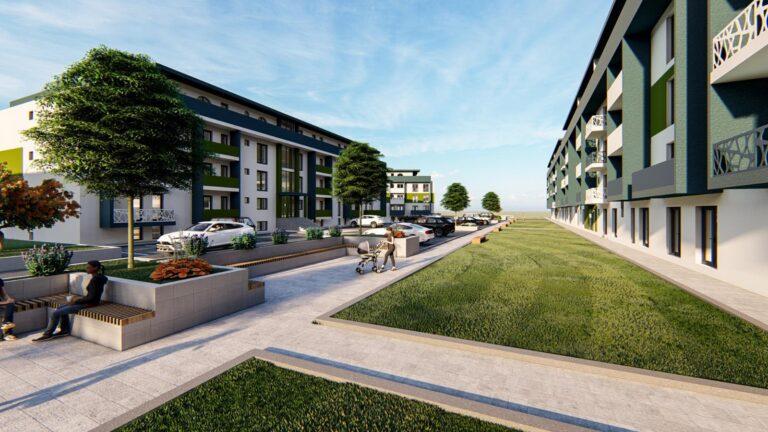 Pacurari - cartier al Iasiului unde se integreaza noul ansamblu rezidential Contemporan